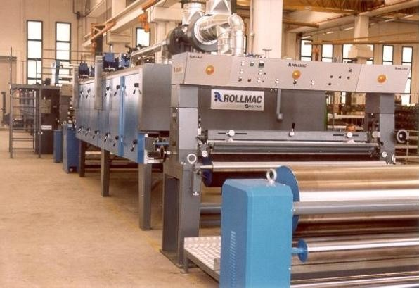 transfer coating line rollmac coating and finishing machines